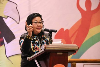 Meiliana Buka Raker dan Workshop Fornas V Kaltim