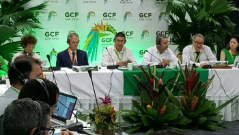 Gubernur Ikuti Business Meeting GCF di Columbia