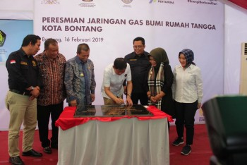 Menuju Bontang City Gas 2020
