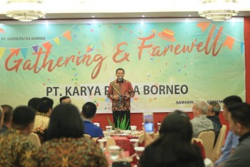 Wagub Hadiri Gathering And Farewell PT KPB